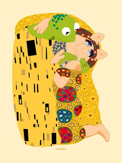 Klimt muppets by ~tudiestudio on deviantART