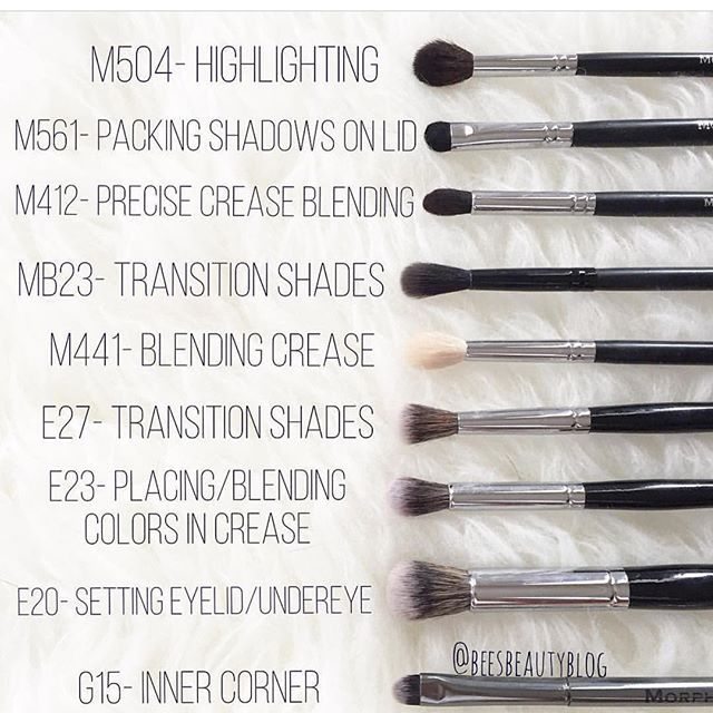 Gotta collect them all @beesbeautyblog breaks down her fave #morphebrushes ❤️ go check out her blog and share your holy grails in a comment below! It's so helpful for people who don't know where to start #TeamMorphe #morphebrushes #morphegirl