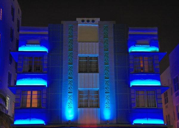 Art Deco Hotel In South Beach Miami Florida