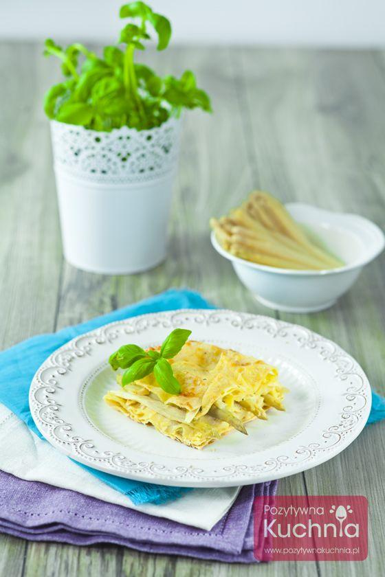 Lasagne ze szparagami - #przepis na #lasagne i #szparagi  http://pozytywnakuchnia.pl/lasagne-ze-szparagami/  #obiad #kuchnia