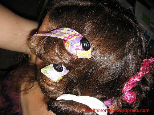 hair curler sewing tutorial