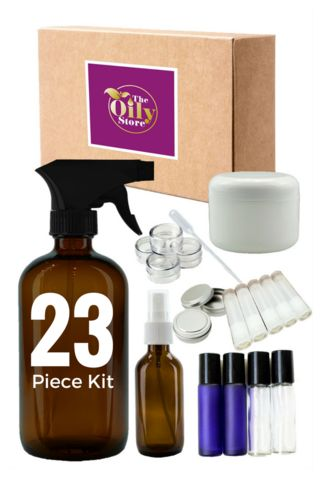 The Oily Store Essential Kit: Must-Have Essential Oil Containers (23 Pieces) - The Oily Store - 1