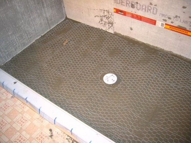 Tricks How To Build Shower Pan Build A Shower Pan For Tile Build