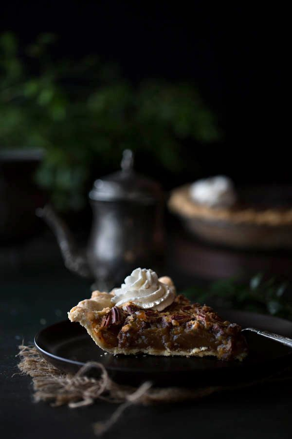 maple pecan pie with bourbon whipped cream old fashioned maple pecan ...