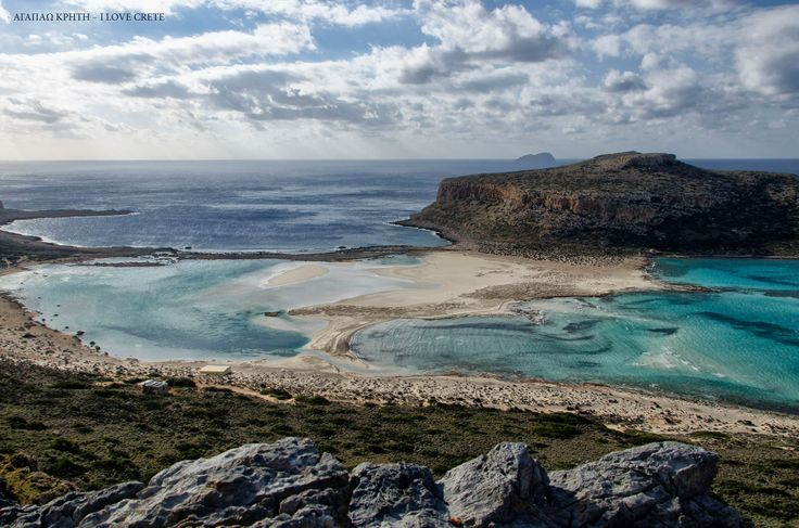 Balos Lagoon in Winter, Chania, Crete, Greece