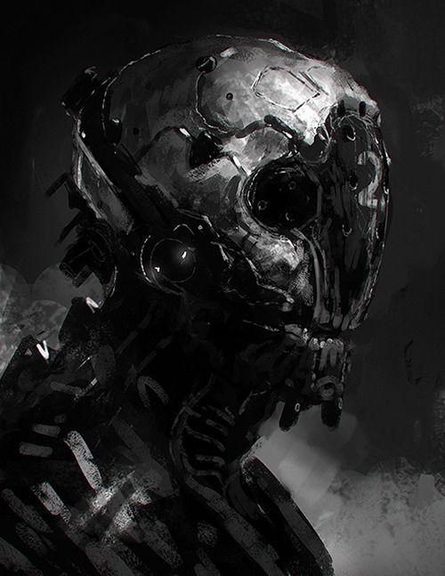 Robots and stuff (but mostly robots), kokutouroll: Cyborg by jameschg - James Cheong -...