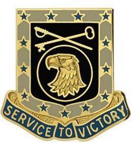 856th Quartermaster Battalion Unit Crest (Service to Victory)
