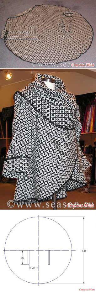 Cabo-coat.  - Costura e bordado rápido para imperfeito - Casa Moms