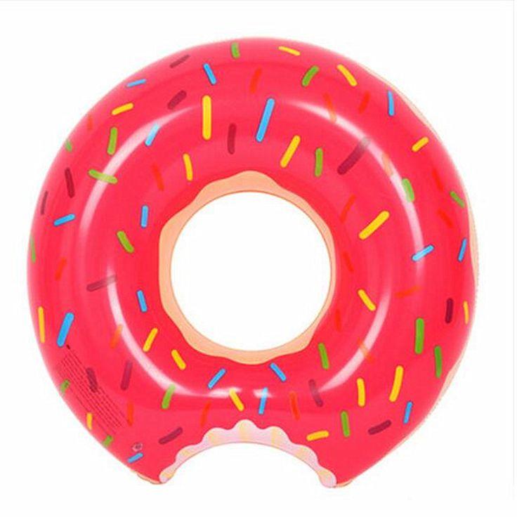 Donut Schwimmring Aufblasbare Schwimmer pool Schwimmen Schwimmer Für Erwachsene Schwimmt aufblasbaren donut Schwimmring Wassersport Spielzeug