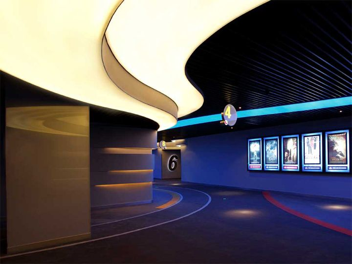 Wanda International Cinemas by AXIS design union, Nanjing – China