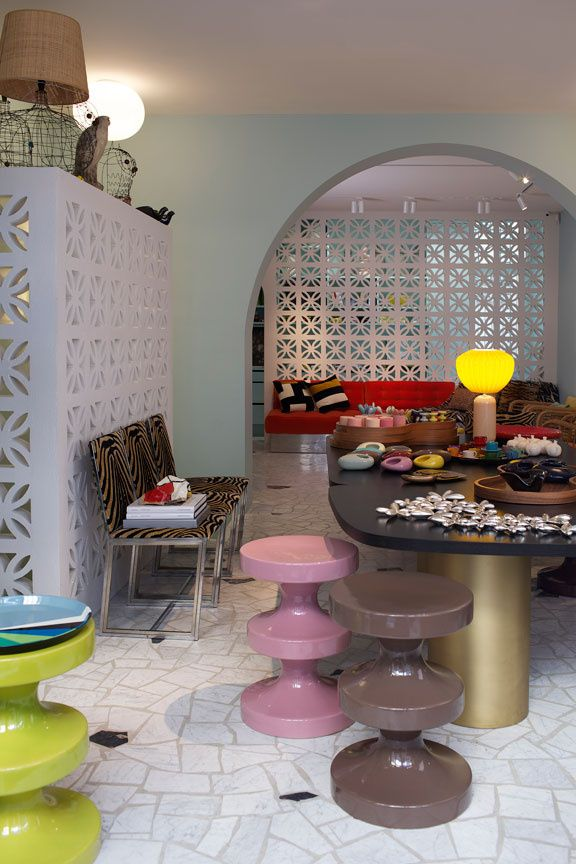 17 best images about india mahdavi on pinterest mexico for India mahdavi furniture