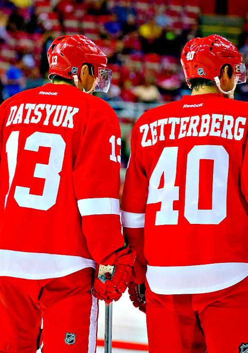 #datsyuk #Zetterberg #red wings #Detroit red wings #nhl #hockey