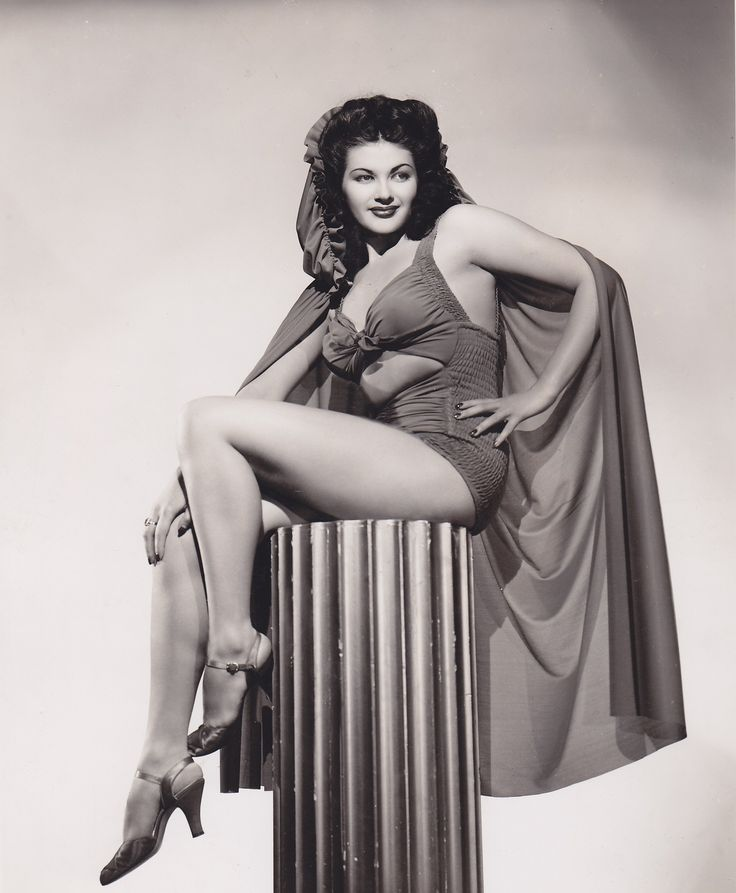 Young yvonne de carlo naked, ebony or black sumission or dom