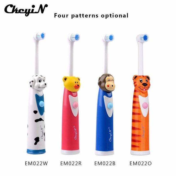 CkeyiN 2017 Hot Electric Toothbrush Children Cartoon Tooth Brush Massage Ultrasonic Toothbrush Teeth Care Oral Hygiene   3 heads #HomeAppliancesCartoon