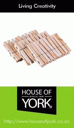 Wooden Pegs� #HouseofYork