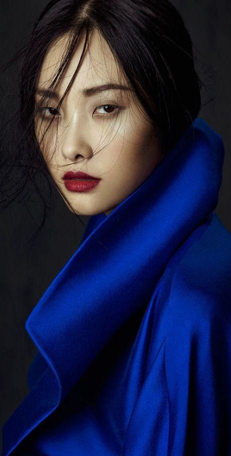 "Kwak Ji Young by Zhang Jingna in ""Flowers in December"" for Fashion Gone Rogue"