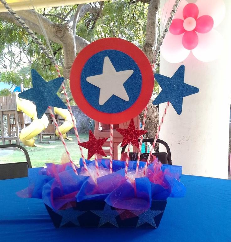 Fiesta Temática Capitán América