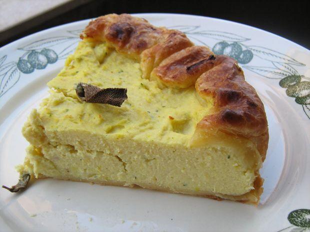 Lo sformato di ricotta http://www.caccabe.it/2013/01/09/sformato-di-ricotta-ricetta-del-souffle-con-besciamella-e-parmigiano/