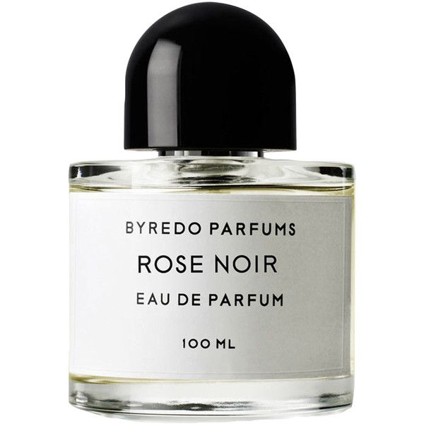 Byredo Parfums Rose Noir Parfum 100ml ($200) ❤ liked on Polyvore featuring beauty products, fragrance, makeup, beauty, fillers, perfume, perfume fragrances, rosebud perfume, parfum fragrance and rose perfume