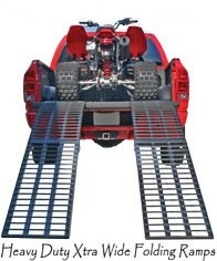 ATV Ramps. Heavy Duty Steel & Aluminum Equipment Loading Ramps - - Aluminum ATV Ramp, ATV Loading Ramps, Folding ATV Ramps.