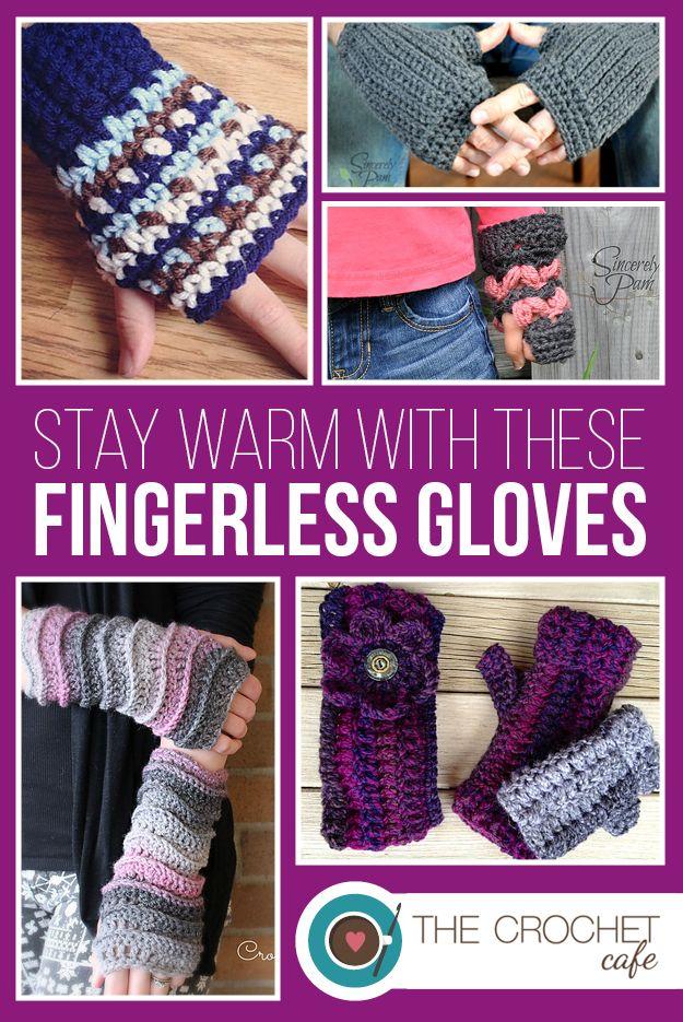 Crochet Patterns for Fingerless Gloves