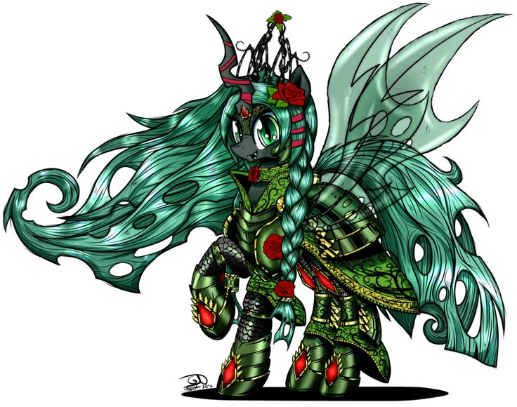 Adult Gallow Wisp in Royal Armour by TechTalkPony.deviantart.com on @DeviantArt