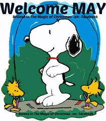 Image result for Funny Snoopy and the month of May