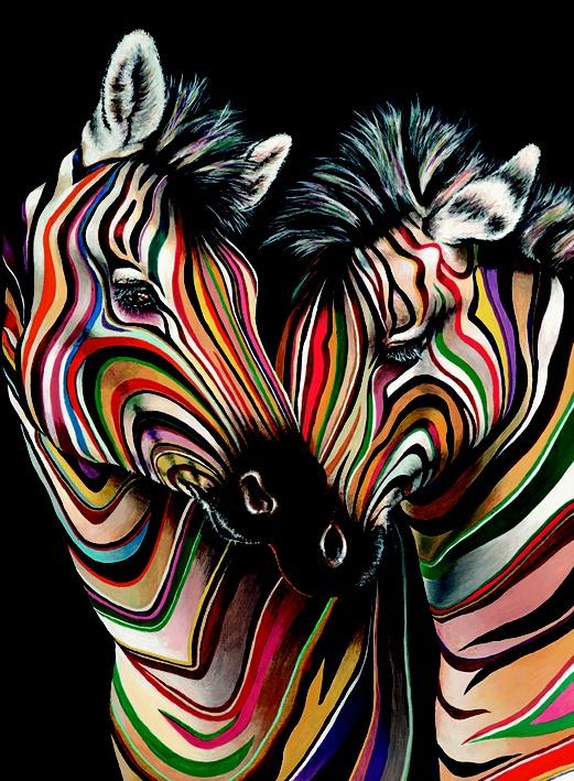 25 beste idee n over zebra schilderij op pinterest zebra decor zebra kamer decor en zebra - Schilderij kamer ontwerp ...