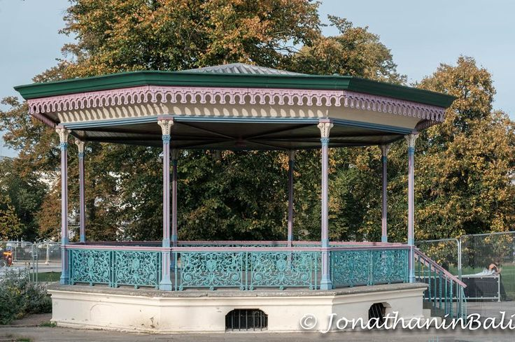Victorian Bandstand Cheltenham Gloucestershire England  For the ebook Walking Tour of Rye the Most Beautiful Town in England - go to http://ift.tt/2whyiaV  #aroundtheworld #worldtraveler #jonathaninbali #www.murnis.com #travelphotography #travel #lonelyplanet #england #travelingram #travels #travelling #traveling #instatravel #photo #photograph #outdoor #travelphoto #exploretocreate #createexplore #exploringtheglobe #theglobewanderer #mytinyatlas #planetdiscovery #roamtheplanet #tribegram…