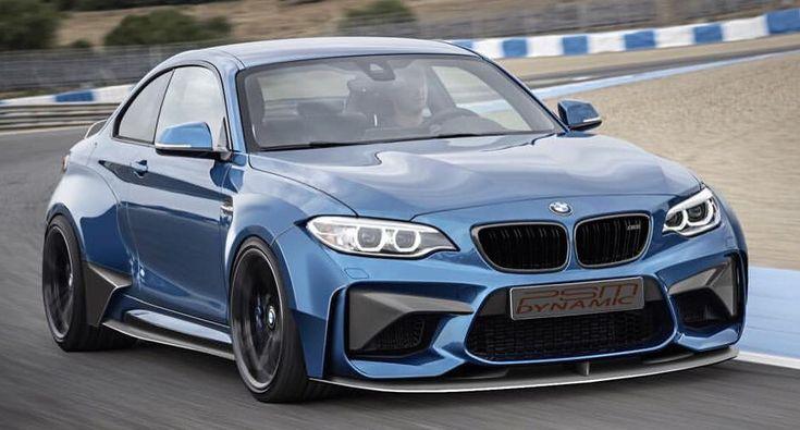 PSM Dynamic previews the BMW M2 Widebody Kit - http://www.bmwblog.com/2016/07/24/psm-dynamic-previews-bmw-m2-widebody-kit/