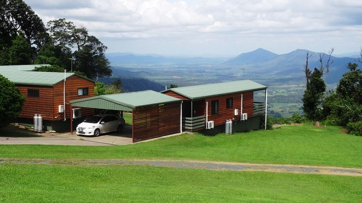 November accommodation specials from just $ 95.00 per night in a one bedroom self contained holiday cabin (conditions apply).   Breathtaking views, air conditioned and covered parking!  Visit website for details.  #cabins #accommodation #Eungella #NationalParks #mountains #holiday