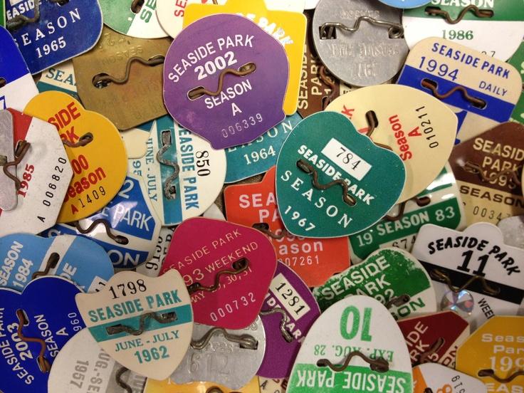 seaside heights nj  beach badges