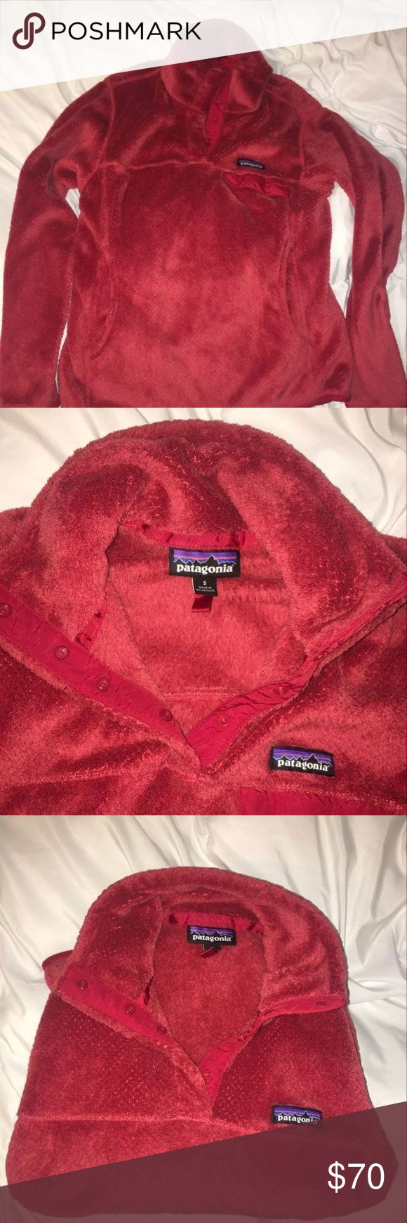 Patagonia Re-Tool sweater Sz small Practically brand new, bought it from Patagonia and wore it once before I grew out of it. It's in perfect condition. Color is Red, and is size small. Comes from a smoke and pet free home. Retail price $119 Patagonia Sweaters