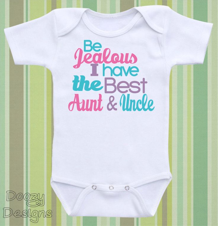 135 best baby clothes images on pinterest babies clothes baby be jealous i have the best aunt and uncle cute personalized baby bodysuit onesie negle Images