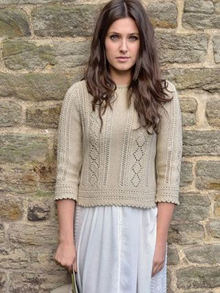 PRAIRIE from WILDER by Kim Hargreaves. Mother Nature provides the perfect backdrop for a collection with feminine style. 21 new designs for Spring/Summer 2016 | English Yarns