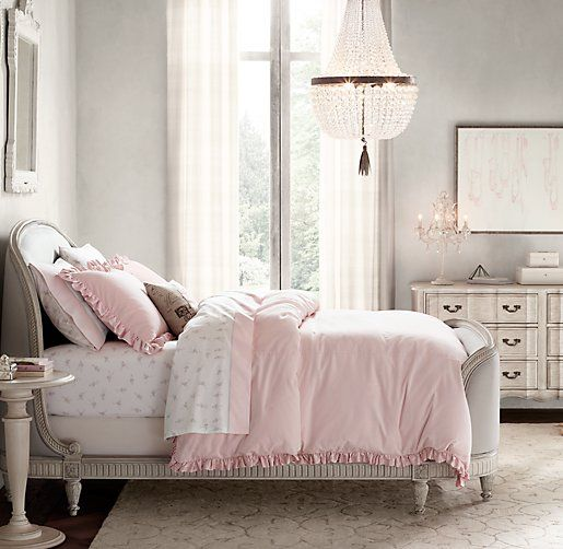 Dauphine Crystal Empire Chandelier- Hannah's Room