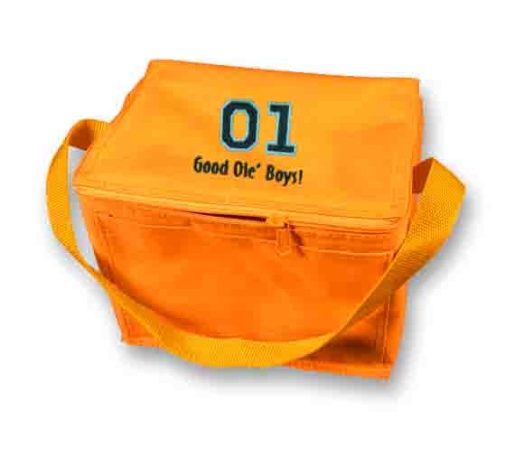 Dukes of Hazzard 01 Orange Lunch Bag $12.95