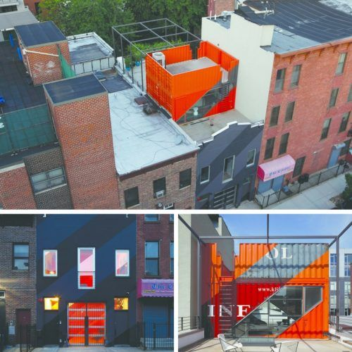 257 best all dwell boxes images on pinterest container homes container houses and little houses - Hive modular x line container home in canada ...