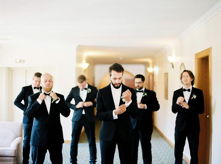 gravata borboleta para noivo e padrinhos