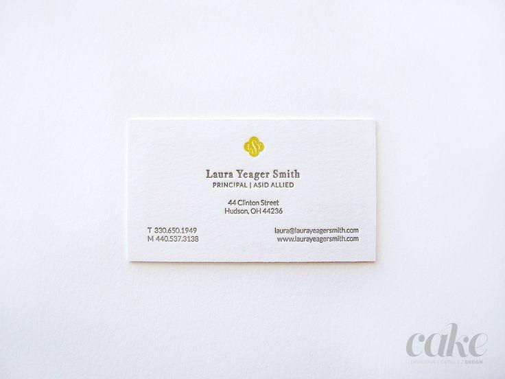 8 best business cards images on pinterest carte de visite letterpress business cards for lys back reheart Images