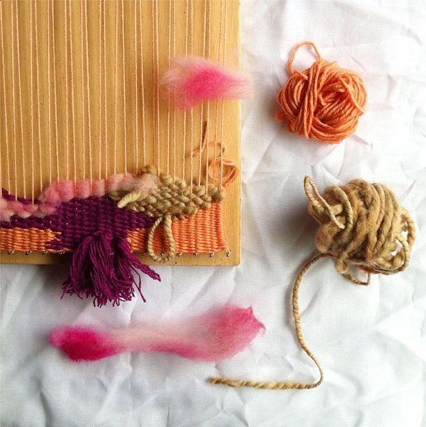 petalplum weaving