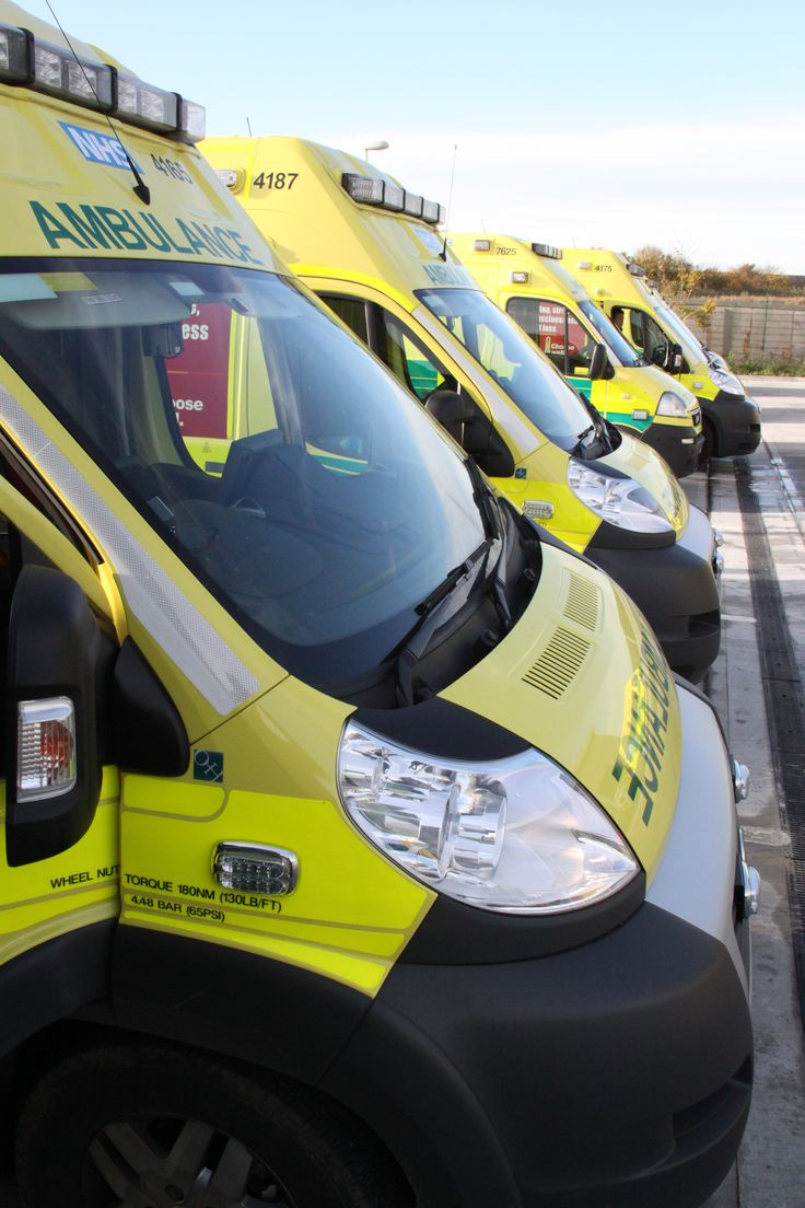 In total, West Midlands' fleet of modern ambulances transport patients over a million miles a month