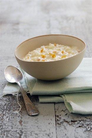 Riz au lait aux écorces d'agrumes - Larousse Cuisine