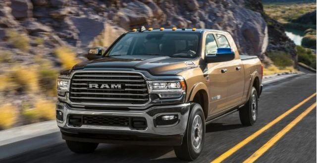 The Forthcoming 2020 Ram Heavy Duty Will Introduce Plenty Of Changes The Prototype Vehicle Was Spot Ram 2500 Mega Cab Dodge Mega Cab Dodge Ram