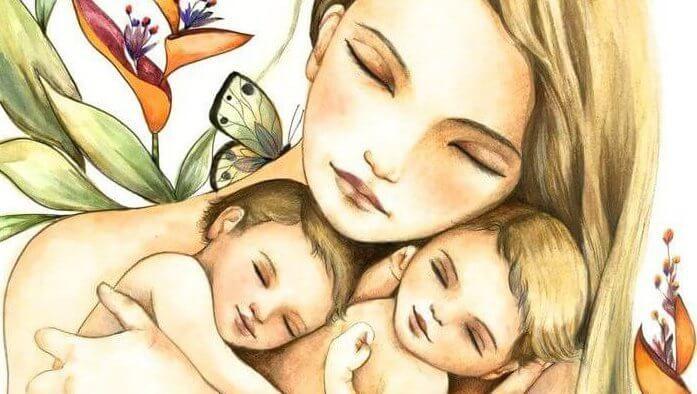 Il destino di una mamma è aspettare i figli… Li aspetti in gravidanza li aspetti...