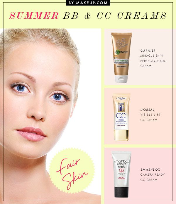 click through for my article on the best BB and CC creams for all skin tones! :)