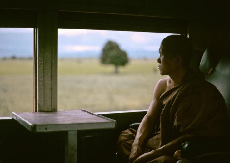 Eine Fahrt mit der Eisenbahn in Burma (Myanmar), Teil 1.