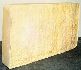 Rachel Whiteread - Untitled (Freestanding Bed), 1991-92