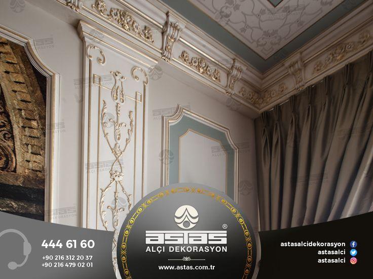 Evinizin güzelliğiyle hayran bırakın. #astas #astasalci #alcidekorasyon #kartonpiyer #plaster #plasterwork #home #decoration #luxury #design #interior