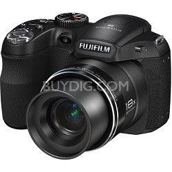 Fujifilm's SLR-style FinePix S2950 digital camera delivers 14 megapixels, a FUJINON 18x zoom lens, as well as dual image stabilization.
